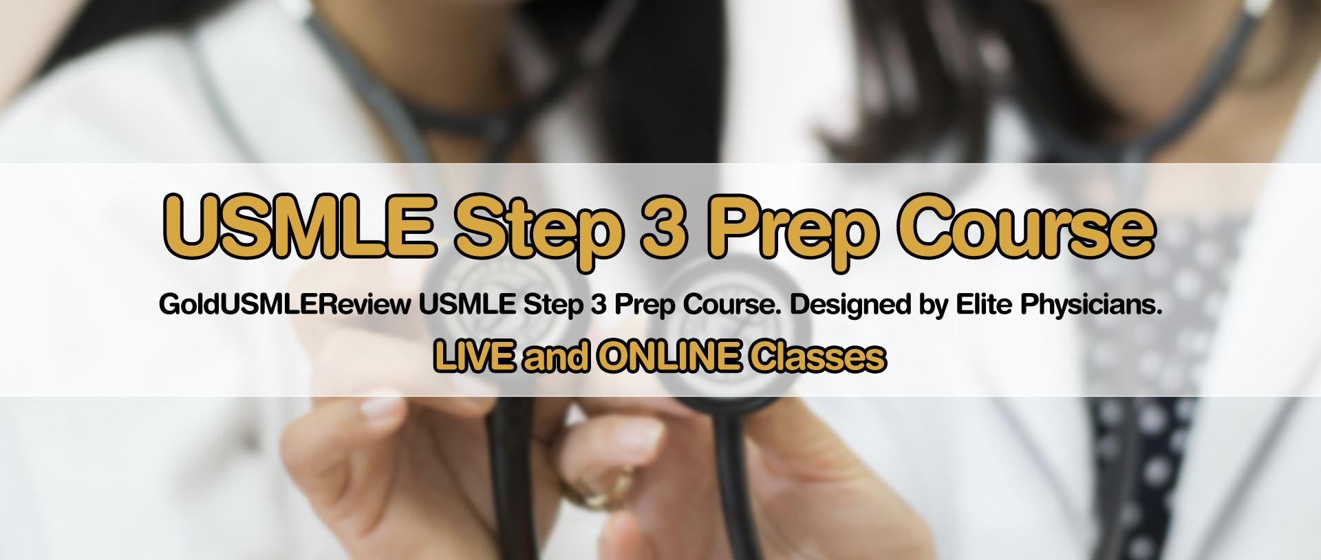 USMLE Step 3 Prep Course